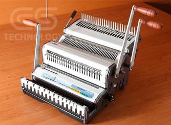 CSTek DMC-21R DuoMac Manual Plastic Comb & Wire Binding Machine